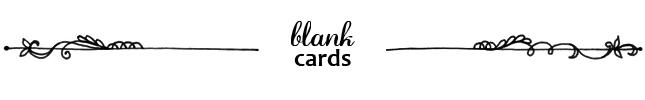Cynla Blank Cards