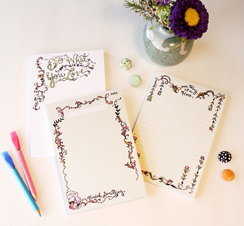 daily Adventure Notepads by Cynla